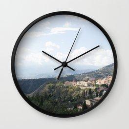 Taormina Wall Clock