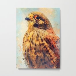kestrel art #kestrel #animals Metal Print