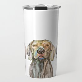 Triple Hunting Dogs Travel Mug