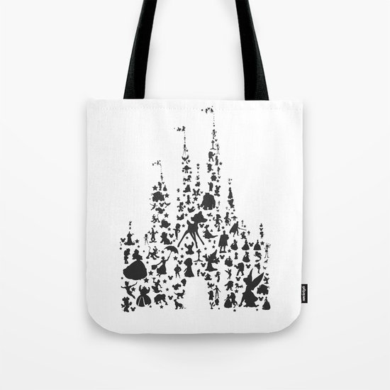 character castle...  Tote Bag