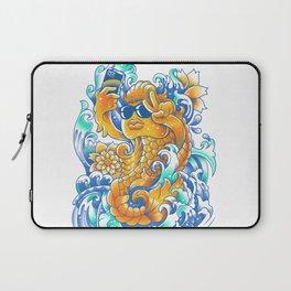 Selfie-ish Fishtail-ish Laptop Sleeve