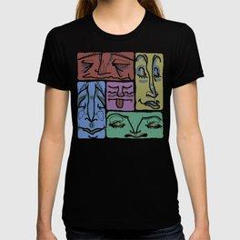 facesssss T-shirt