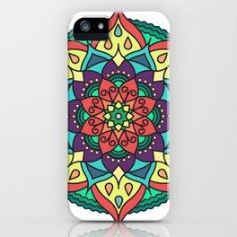 Passion Mandala iPhone Case