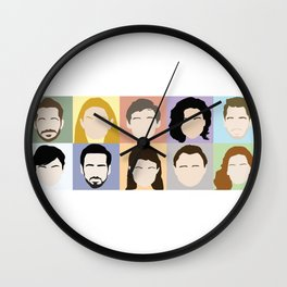 Once Upon A Cast Wall Clock