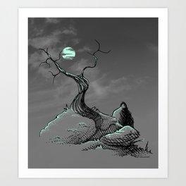 Serene Art Print