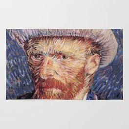 Self Portrait with Felt Hat Rug