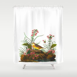 Yellow-winged Sparrow Shower Curtain