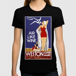 Vintage Weston Super Mare England Travel T-shirt