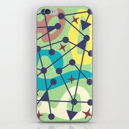 Mid Century Modern Abstract Pattern 382 iPhone Skin