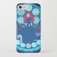 merida iPhone & iPod Cases featuring Merida by NicoleGrahamART