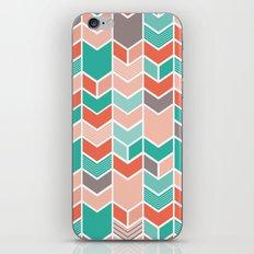 Multi Colored Chevron iPhone & iPod Skin