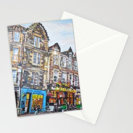 Grassmarket Dusk, Edinburgh Stationery Cards