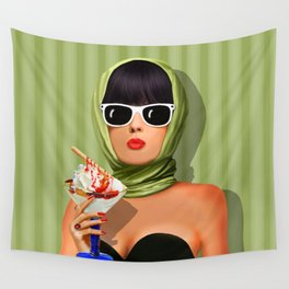 Summer love, summer ... sun and ice cream Wall Tapestry