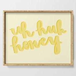 Uh Huh Honey Yellow Serving Tray