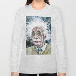 ALBERT EINSTEIN - watercolor portrait.7 Long Sleeve T-shirt