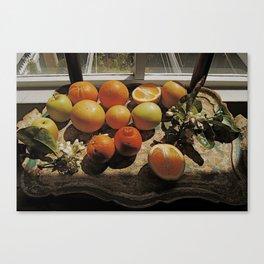 Sunny Still Life Canvas Print