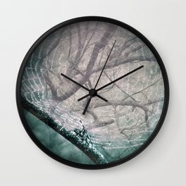 Spider Tree Wall Clock