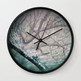 Spider Tree Wall Clock