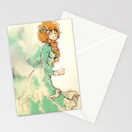 Dee with Color Stationery Cards