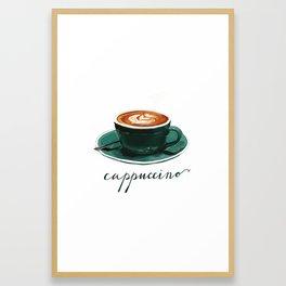 Cappuccino Framed Art Print