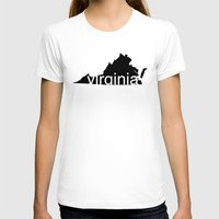 virginia T-shirts featuring Virginia by Isabel Moreno-Garcia