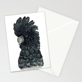 Black Cockatoo Stationery Cards