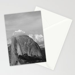 Half Dome in Black and White Stationery Cards