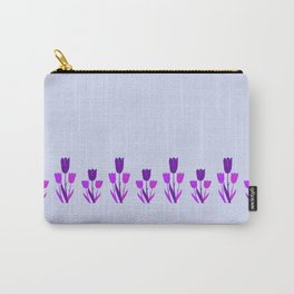 Lavender Tulips In The Spring Carry-All Pouch