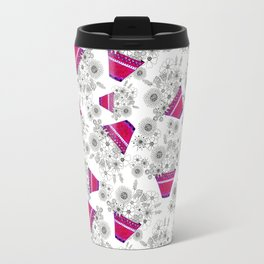 Flowerpot (random repeat) Travel Mug