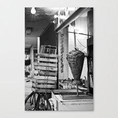 A taco place Canvas Print
