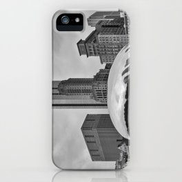 Chicago's Cloud Gate  iPhone Case