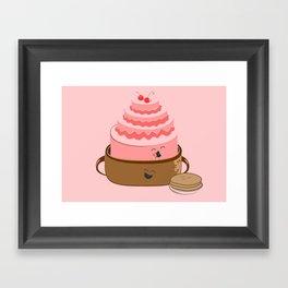 How Pancake Started Framed Art Print