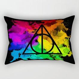 Rainbow Hallows  Rectangular Pillow