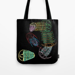 Cambrian Era Trilobites 2 Tote Bag