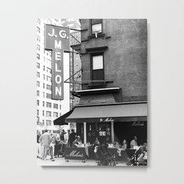 JG Melon, Upper East Side, New York City Metal Print