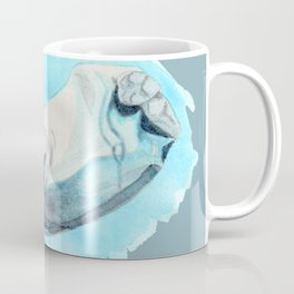 Baby Hippo with a Twist Underwater Fantasia Ballet Coffee Mug