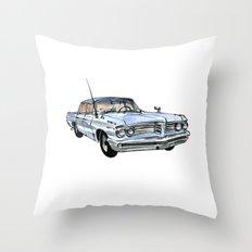 Old Pontiac Throw Pillow