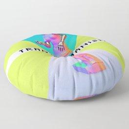 Maquinus Transhumanism ENG Floor Pillow