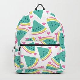 Watermelon love pattern Backpack