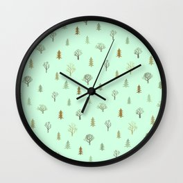 winter wishes 11 Wall Clock