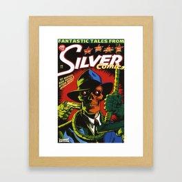 Silver Comics #6, 2006 Framed Art Print