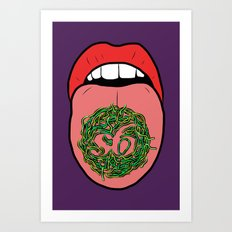 WORMS! Art Print