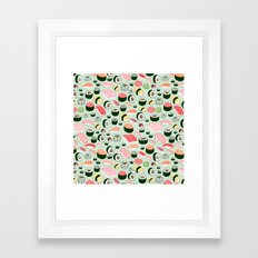 Sushi Love Framed Art Print