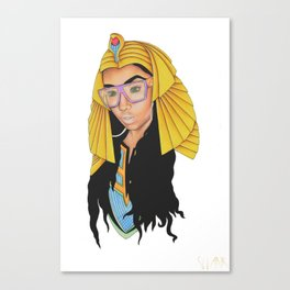 Modern Day Cleopatra Canvas Print