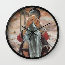 Cascades Wall Clock