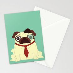 Pug in a Hat Stationery Cards