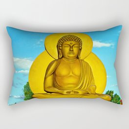 In Arte, Buddha Rectangular Pillow