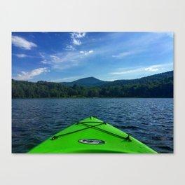 Vermont Kayaking Canvas Print