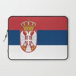 Flag of Serbia - Serbian Flag Laptop Sleeve