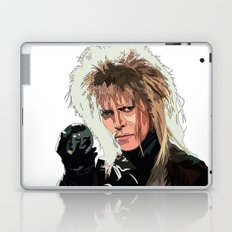 D. Bowie, inside the labyrinth Laptop & iPad Skin